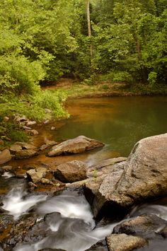 Chewacla State Park near Auburn.