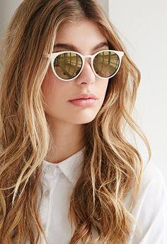 Round Sunglasses | Forever 21 - 1000135747
