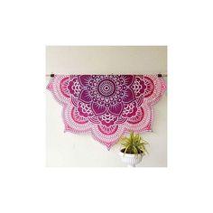 Pink Lotus Beach Throw Mandala Sheet – TheNanoDesigns
