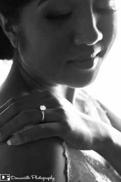 Donnacille Photography - Bride with engagment ring