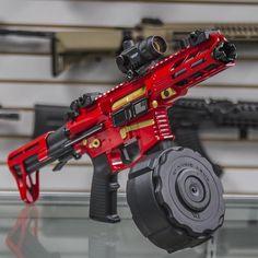 Airsoft Guns, Weapons Guns, Guns And Ammo, Big Guns, Cool Guns, Armas Ninja, Ar Pistol, Hunting Guns, Custom Guns