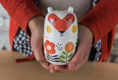 Camila Prada is raising funds for Adopt and name these cute storage jar characters. on Kickstarter! I'm raising funds for a historic British ceramic manufacturer to bring my tableware characters to life. Prada, Ceramic Tableware, Ceramic Design, Jar Storage, Food Coloring, Decoration, Adoption, Ceramics, Cute
