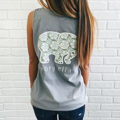 076962de0ffae7 This would look so cute with a jean skirt 😍. Anna Tratechaud · Ivory Ella