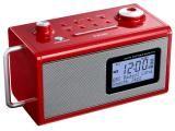 Rádio Relógio Despertador/Alarme AM/FM - Entrada Auxiliar Display Digital - TEAC R5