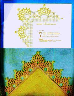 crochet - bicos/barrados com cantos - corners 1 - Raissa Tavares - Веб-альбомы Picasa