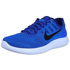 online retailer 3aea7 27705 NIKE Mens Lunarglide 8 Racer BlueBlack Running Shoe 65 DM US -- Learn more  by visiting the image link. (This is an affiliate link)