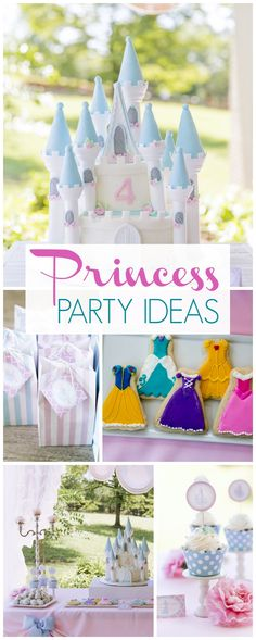 You have to see this gorgeous princess birthday party! See more party ideas at CatchMyParty.com!