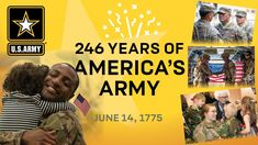 Happy birthday to the U.S. Army with a special salute to the brave, honorable active and veteran soldiers! Us Army Birthday, Army's Birthday, Happy Birthday, America's Army, Military Quotes, Tulsa Oklahoma, United States Army, Soldiers, Brave
