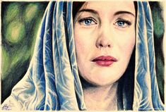Arwen Undomiel by *Fantaasiatoidab on deviantART ~ LOTR Hobbit Art, The Hobbit, Fellowship Of The Ring, Lord Of The Rings, Aragorn And Arwen, Lord Sauron, Arwen Undomiel, Rings Film, Film Base