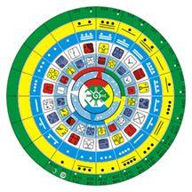 Nombres de los calendarios mayas  El calendario sagrado de tzolkin