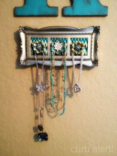 Framed Jewelry Display