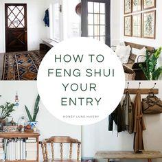 Feng Shui Hallway, Feng Shui Entrance, Feng Shui Doors, Feng Shui Front Door, Casa Feng Shui, Feng Shui Your Bedroom, Feng Shui Mirrors, How To Feng Shui Your Home, Feng Shui House