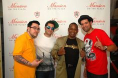 """Founding members of """"The Cartel"""" with Master Gee from #SugarHillGang at our party #Karmageddon. #streetwear"""