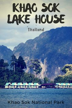 Khao Sok Lake House is a great place to break up the beach life and change it for some hiking and caving. Definitely put this place on your list of places to go in Thailand. Things to do in Thailand. #thailand #southeastasia #relax