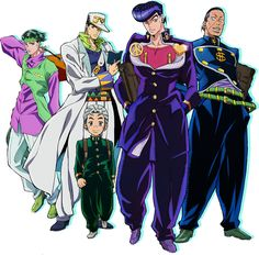 The official website of the television anime adaptation of Hirohiko Araki's JoJo's Bizarre Adventure: Diamond Is Unbreakable (JoJo no Kimyō na Bōken: Diamond wa Kudakenai) manga unveiled new visuals for the anime (Feb 2016)