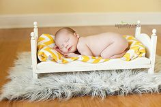 Small Newborn Photography Prop Baby Doll Posing Bed - Whimsical - Diy Ready To…
