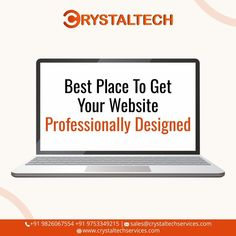 Want your own Website to go for the Best. Web application Development refers to building a website and deploying it on the web. Nowadays, businesses are willing to showcase their products and services on websites, which helps their business grow globally and generate more and more revenue along with customer satisfaction. For more info, we will provide you best Web & Mobile Applications for your business. Sales E-mail:- sales@crystaltechservices.com Website:- www.crystaltechservices.com Web Application Development, Design Development, It Service Provider, Own Website, Building A Website, Best Web, Letter Board, Web Design, Mobile Applications