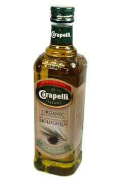 Carapelli Organic Extra Virgin Olive Oil  (Certified Gluten-Free): Generations of craftsmen have preserved since 1893 the tradition of passionately blending Carapelli Extra Virgin Olive Oils. Carapelli Organic Extra Virgin Olive Oil, with its fruity aroma and a light peppery olive taste, is especially for all who love organic and fine foods. With its natural richness, it is perfect for salad dressings, marinades or drizzled over pasta, fish, all types of vegetables and bruschetta…