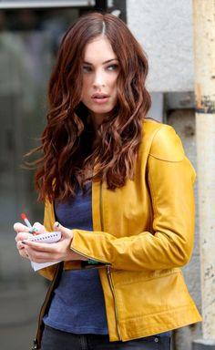 Megan Fox hair color i love..