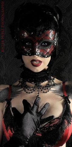 burgundy, wine, black, maroon, leather, vinyl, lace, mask, masquerade, fetish……