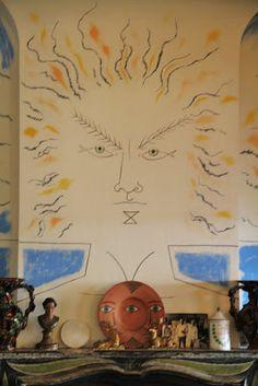 Art of the fireplace /Chez Jean Cocteau à Santo Sospir