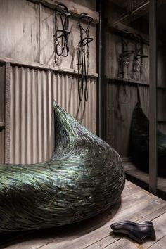 Incursion windows at Ginza Maison Hermès, Tokyo – Japan » Retail Design Blog