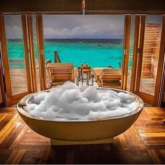 Relaxation in paradise at the Ayada Resort Maldives.  Photo by @mohamedalshehhi