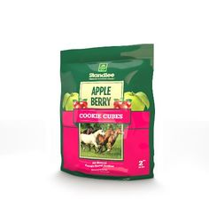 Standlee Hay Company Apple Berry Cookie Cubes Treats, Size 2 * Review more details here (This is an amazon affiliate link. I may earn commission from it)