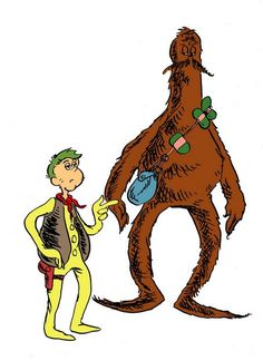 If Star Wars had been created by Dr. Seuss. LOVE this!