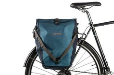 The best bicycle pannier on the market, the durable, waterproof and strong Ortlieb Back Roller Bike Pannier Set is as tough and they come. It's the best bike bag for everyday bike commuting, extended bike touring and rainy weather.
