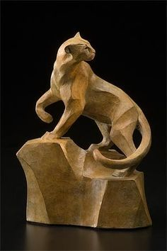 Panther Carving