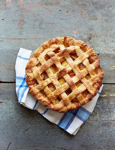 ... into 9-inch pie plate lined with 1 store-bought or homemade piec