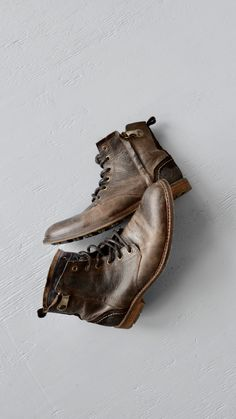Boots from Bullboxer Shoes #boots #leather