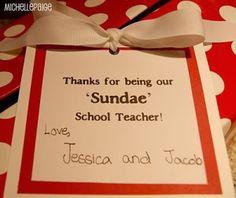 27 Best Gift Ideas Sunday School Teachers Images Homemade Gifts