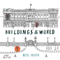 'Buildings of the World' colouring book. More samples are available for potential publishers