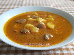 Sertés-gulyásleves • Recept | szakacsreceptek.hu
