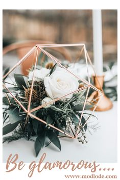 Sphere Table Centerpiece - Geometric Spheres - Wedding or Special Events - Brass/Gold, Silver, copper/rose gold, black - Hochzeitsinspiration - tischdekoration hochzeit Geometric Wedding, Floral Wedding, Diy Wedding, Wedding Bouquets, Wedding Ceremony, Wedding Flowers, Dream Wedding, Wedding Day, Rustic Wedding
