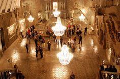 Wieliczka Salt Mine is 135 meters ft) underground salt min located in the town of Wieliczka in southern Poland, within the Krakow metropolitan area. Wieliczka Salt Mine, Table Salt, Historical Monuments, Krakow, Virtual Tour, First World, Beautiful World, Poland, Galleries