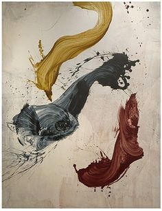 James Nares. Masterful brush