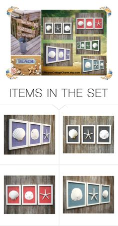 Home decor Style by cristianaradu on Polyvore featuring art, beach, homedesign, wallart and etsyfru