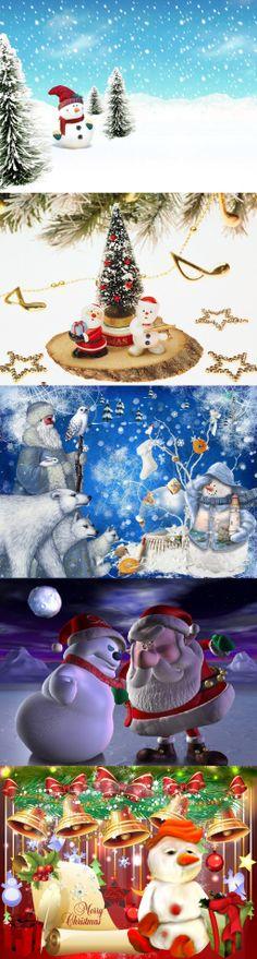 Santa VS The Snowman (Flim)