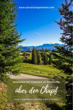 Wandern im Emmental: von Eggiwil über den Chapf Hiking With Kids, Go Hiking, Hiking Tips, Travel With Kids, Asphalt Road, Der Bus, Warm Autumn, Nice View, Where To Go