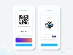 CryptoAPP Qr Code Scan designed by Paul Guro. Connect with them on Dribbble; Mobile Application Design, Mobile Ui Design, Web Ui Design, Qr Code Scanner App, Qr Code App, Qr Codes, Qr App, App Login, Ui Design Principles