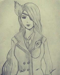 Pencil Art, Pencil Drawings, Art Drawings, Beautiful Easy Drawings, Real Yami, Legend Drawing, Mobile Legend Wallpaper, Tattoo Design Drawings, Cool Anime Girl