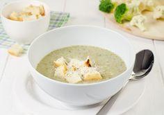 oana cuzino supa crema de brocoli branza Cheeseburger Chowder, Hummus, Oatmeal, Lunch, Breakfast, Healthy, Ethnic Recipes, Easy, Soups