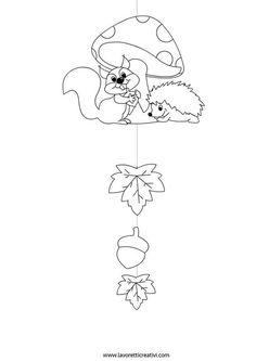 Die Ideenbox des I amp 39 Workshop Diy Herbstaktivitäten Fall Paper Crafts, Fall Arts And Crafts, Autumn Crafts, Autumn Art, Diy And Crafts, Crafts For Kids, Colouring Pages, Coloring Pages For Kids, Class Decoration