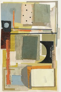 Melinda Tidwell, 150416: Writing A Conversation 18 x 11.5 book collage on paper