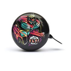 Lets Fly (Night) bicycle bell design by Ben Mitchell Ben Mitchell, Bell Design, Bicycle Bell, Street Artists, Illustrators, Night, Collection, Illustrations