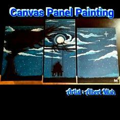 Panel painting  #Albertmish #Rottenapplearts Apple Art, Canvas, Artwork, Poster, Paintings, Design, Tela, Work Of Art