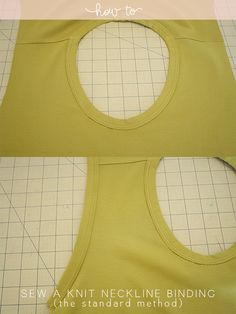 How-to-sew-a-knit-neckline-binding-the-standard-method